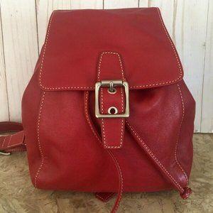Rare Vtg Coach legacy leather drawstring backpack